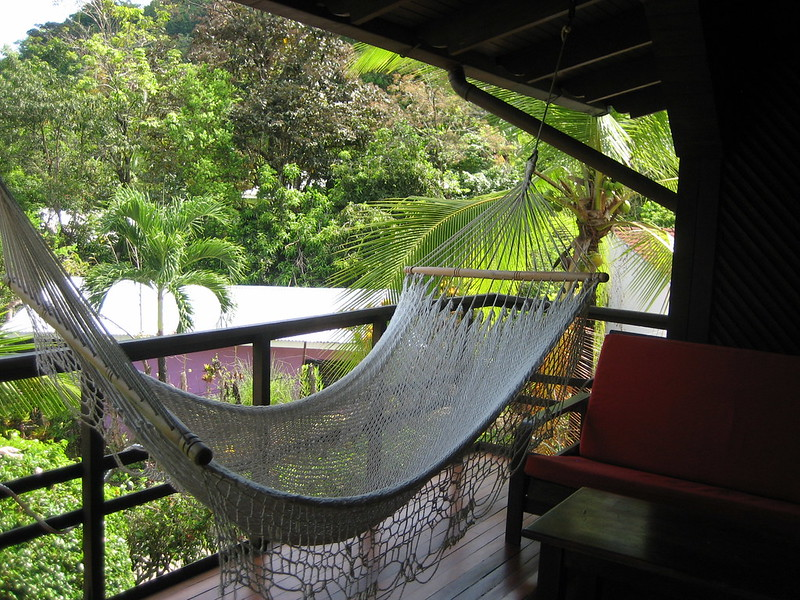 Small balcony ideas hammock