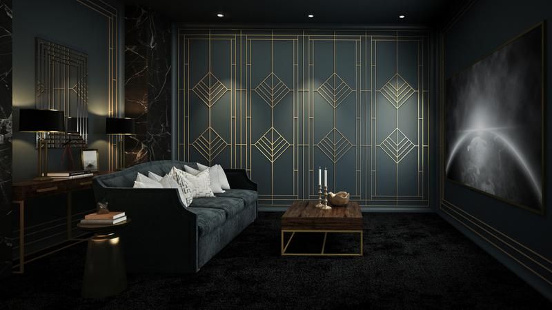 Is Art Deco design suitable in every room?