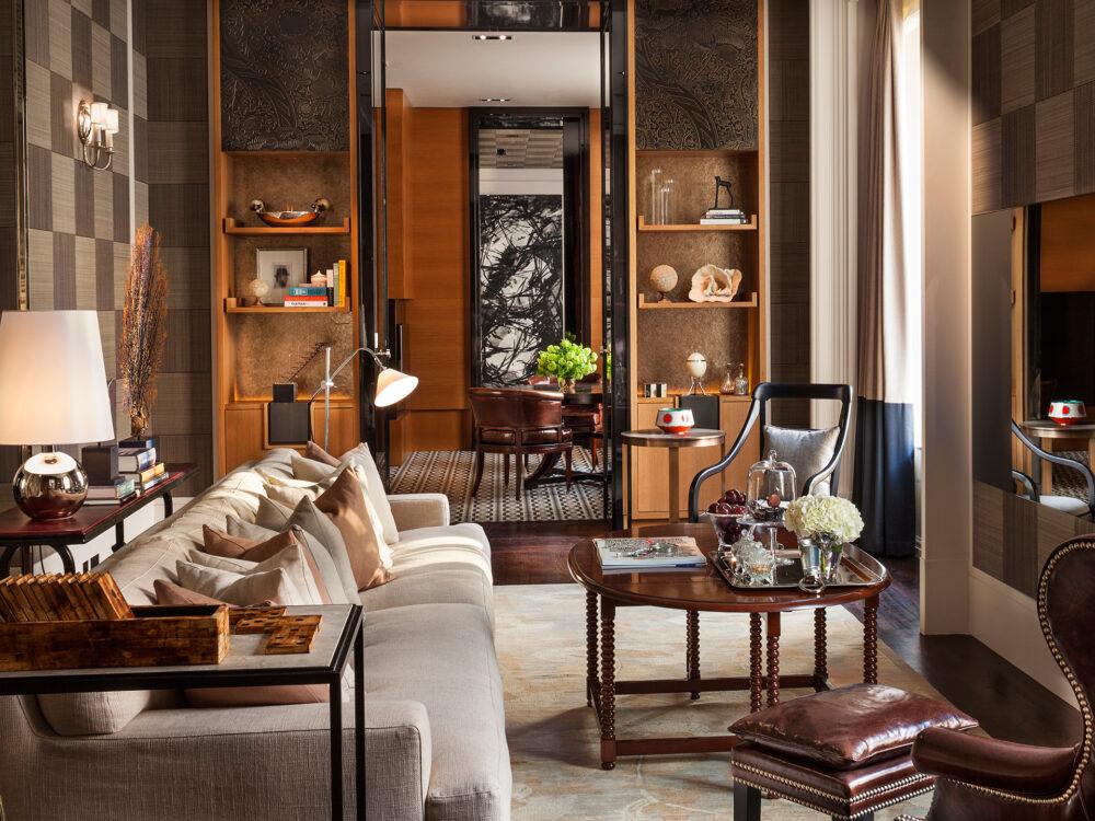 Палисандр в гостиной - стиль и элегантность