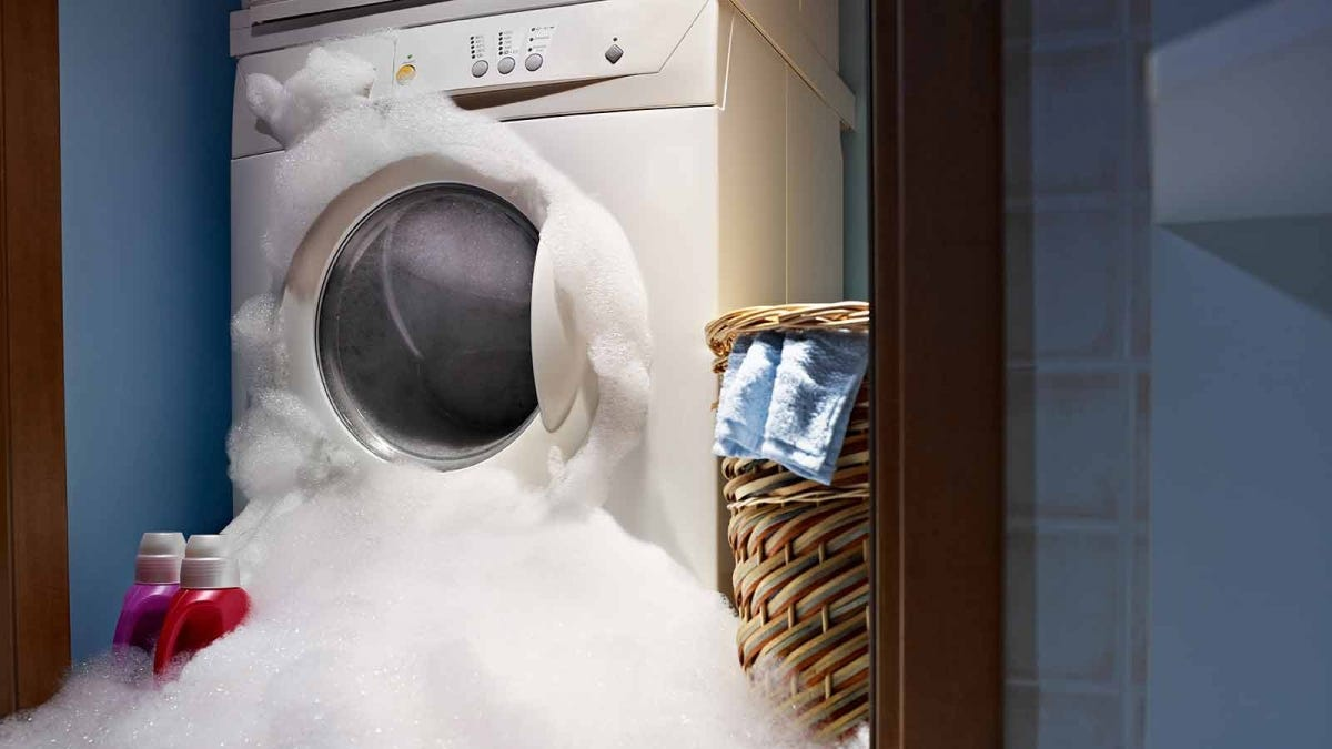 What happens if the washing machine is not cleaned regularly?