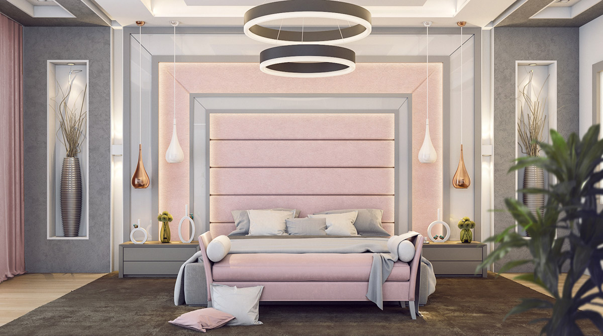 Dusty Pink Check How To Use It In Interior Design