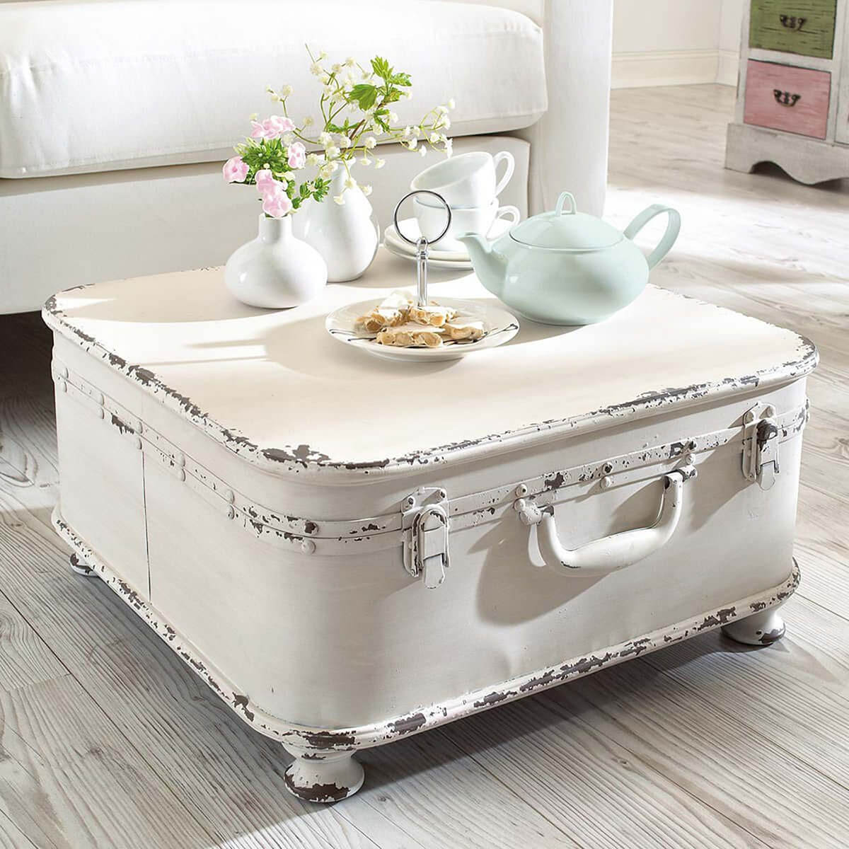 Table d'affaire shabby chic