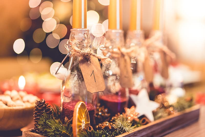 Table Christmas decorations