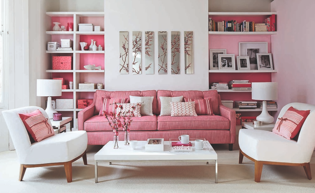 Fuchsia - Color That Rules In Bedrooms And Living Rooms