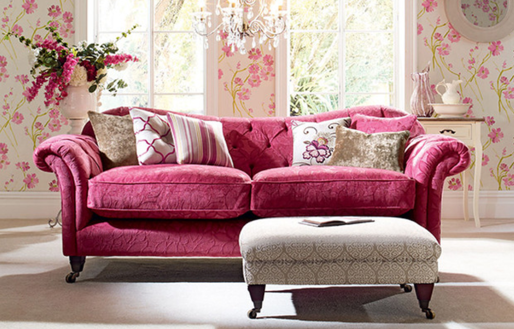 Fuchsia - color of home decorations
