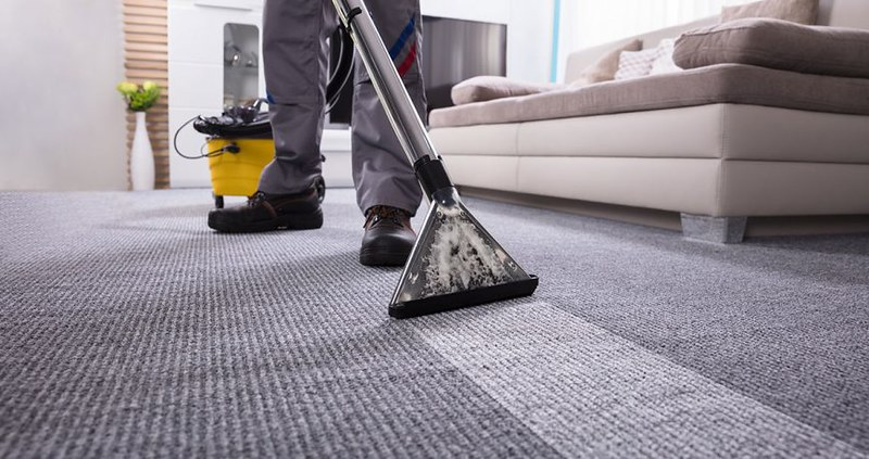 How to clean carpet using a carpet cleaner?
