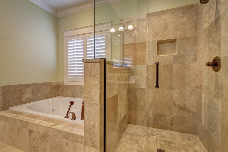 What tiles are best for a curbless shower?