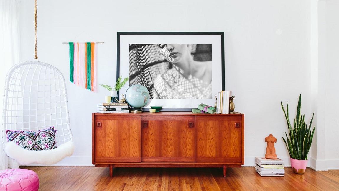 Палисандр - комод в стиле бохо