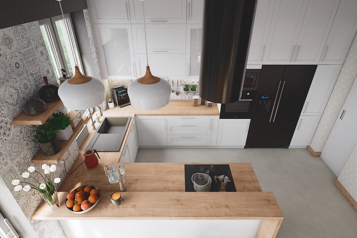 9 Perfekte U förmige Küchen Layout Ideen, die Sie Kopieren Möchten
