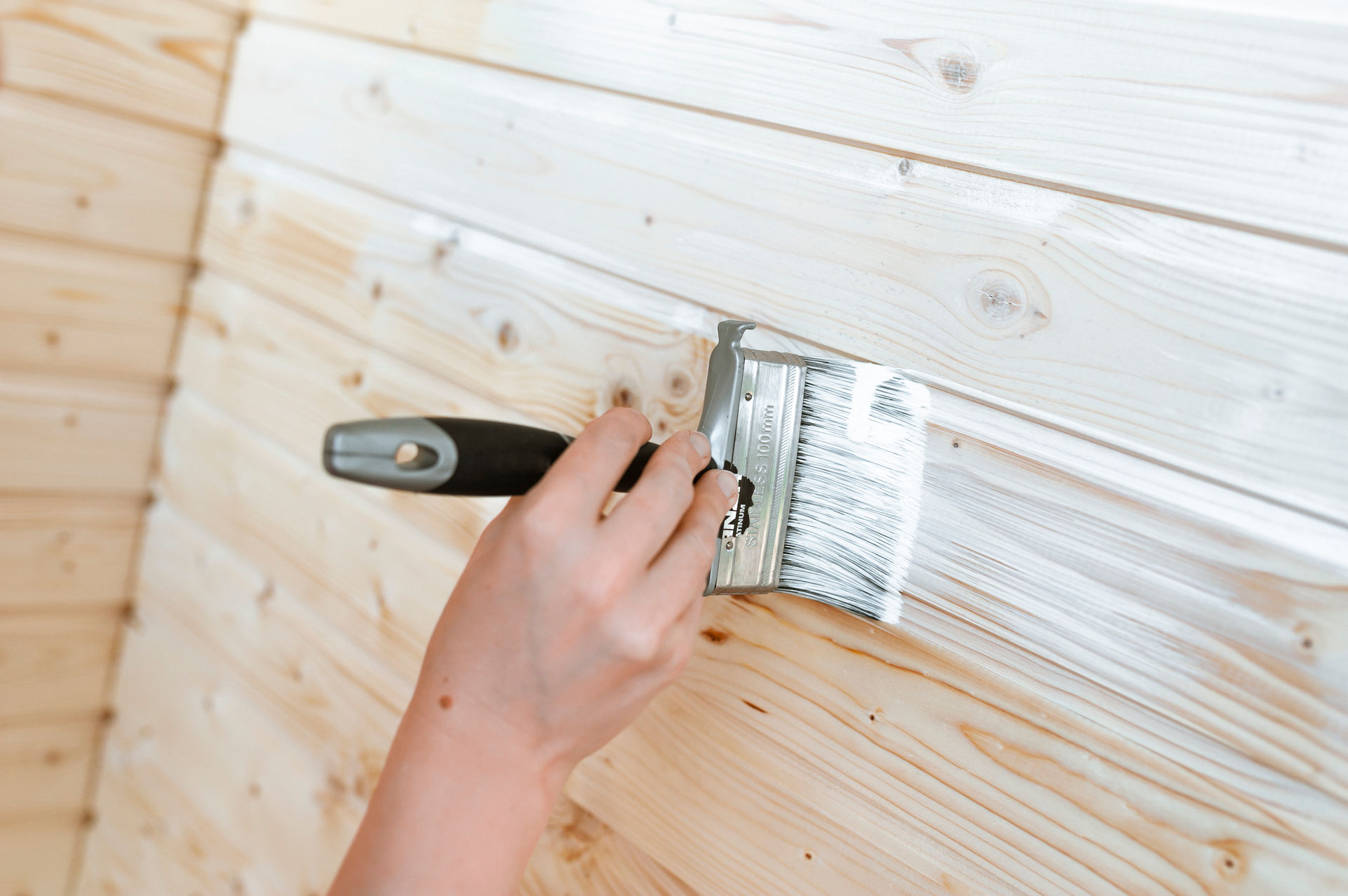 Wood Panel Wall - Check Best Ideas on How to Paint Wood Paneling