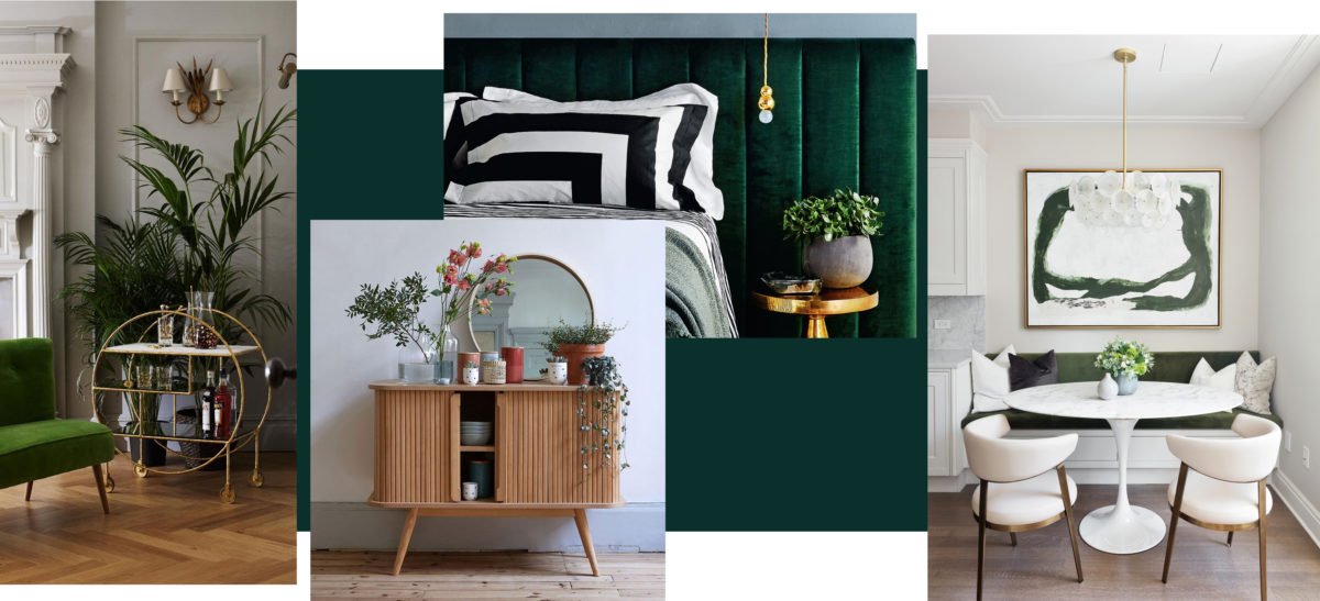 What do Art Deco wall units and dressers look like?
