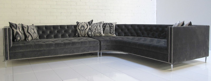 Charcoal furniture - home decor trend of 2020 2