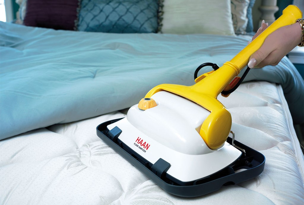 How can one use a steam cleaner?