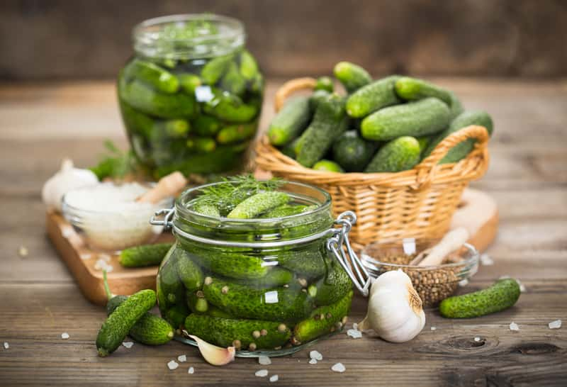 Pickled cucumber recipe - traditional pickles in 4 easy steps
