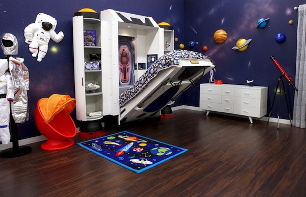 Boys' bedroom ideas - space