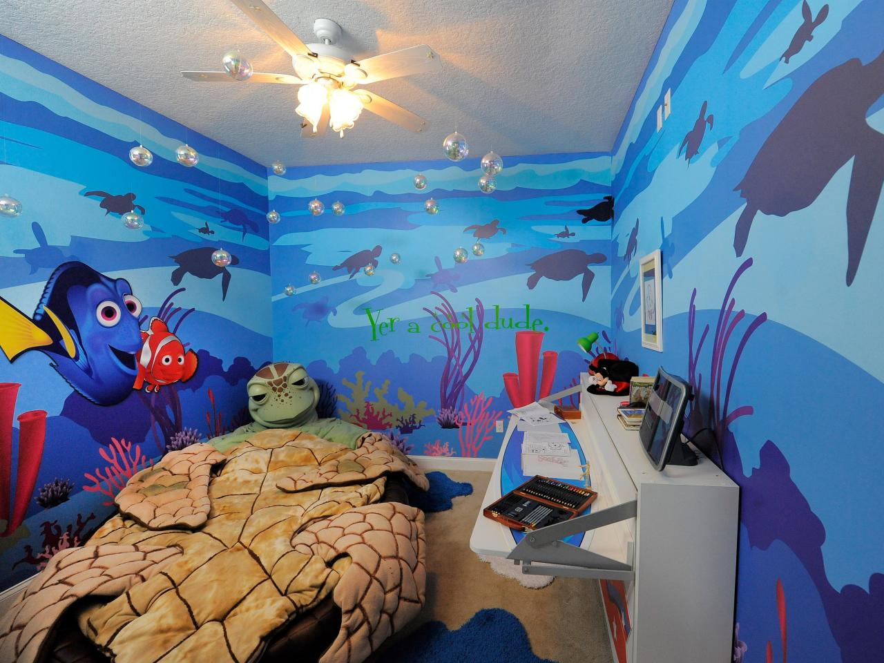 Boy bedroom ideas Finding Nemo
