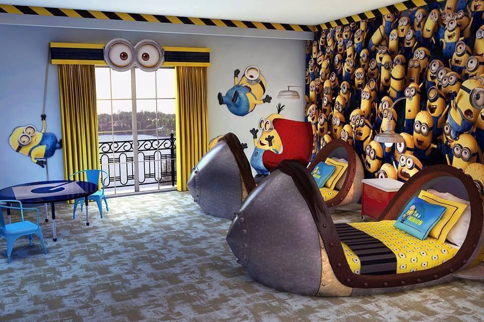 Boys' room ideas Minions