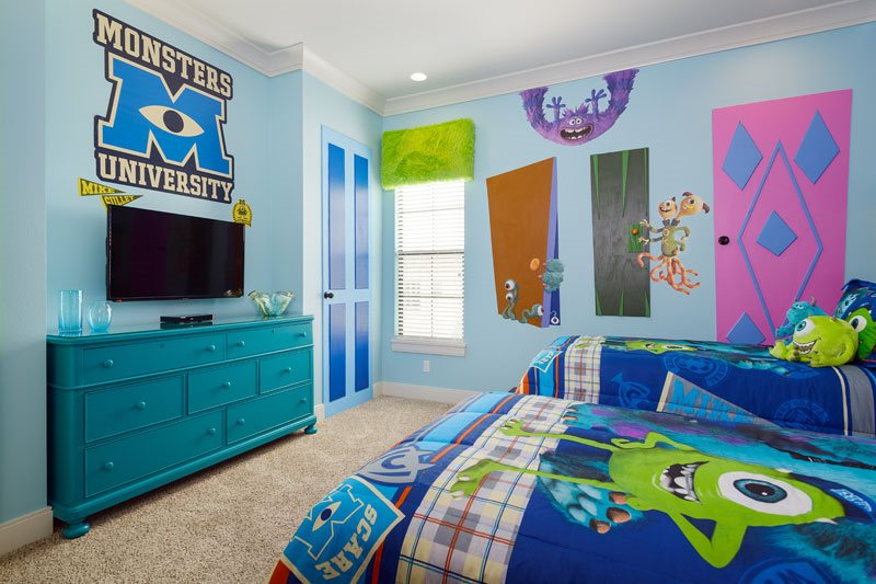 Bedroom ideas for boys Monsters Inc