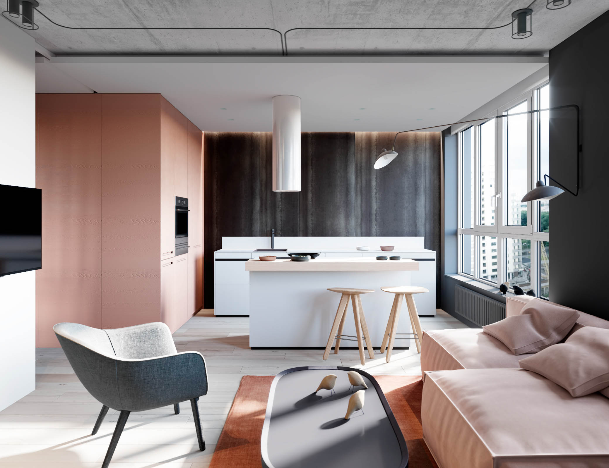 Dusty Pink - Check How to Use It in Interior Design