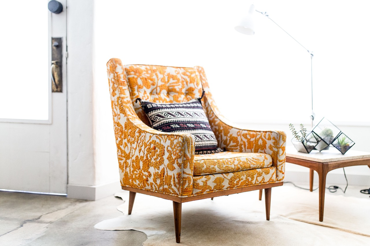 French country decor - armchair