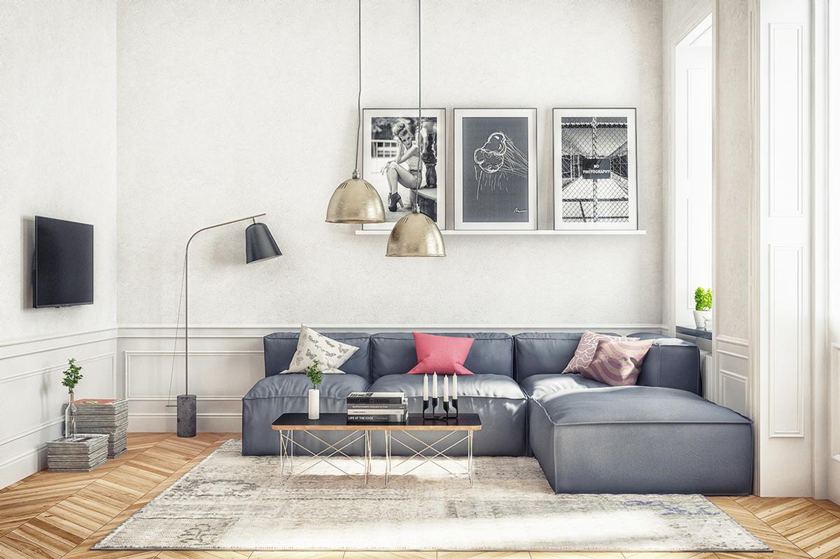 Skandinavisches Wohnzimmer   20 Herausragende Nordische Deko Ideen
