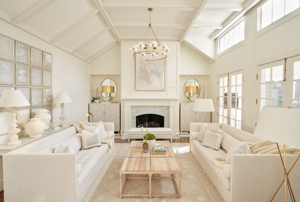 A bright classic shabby chic living room