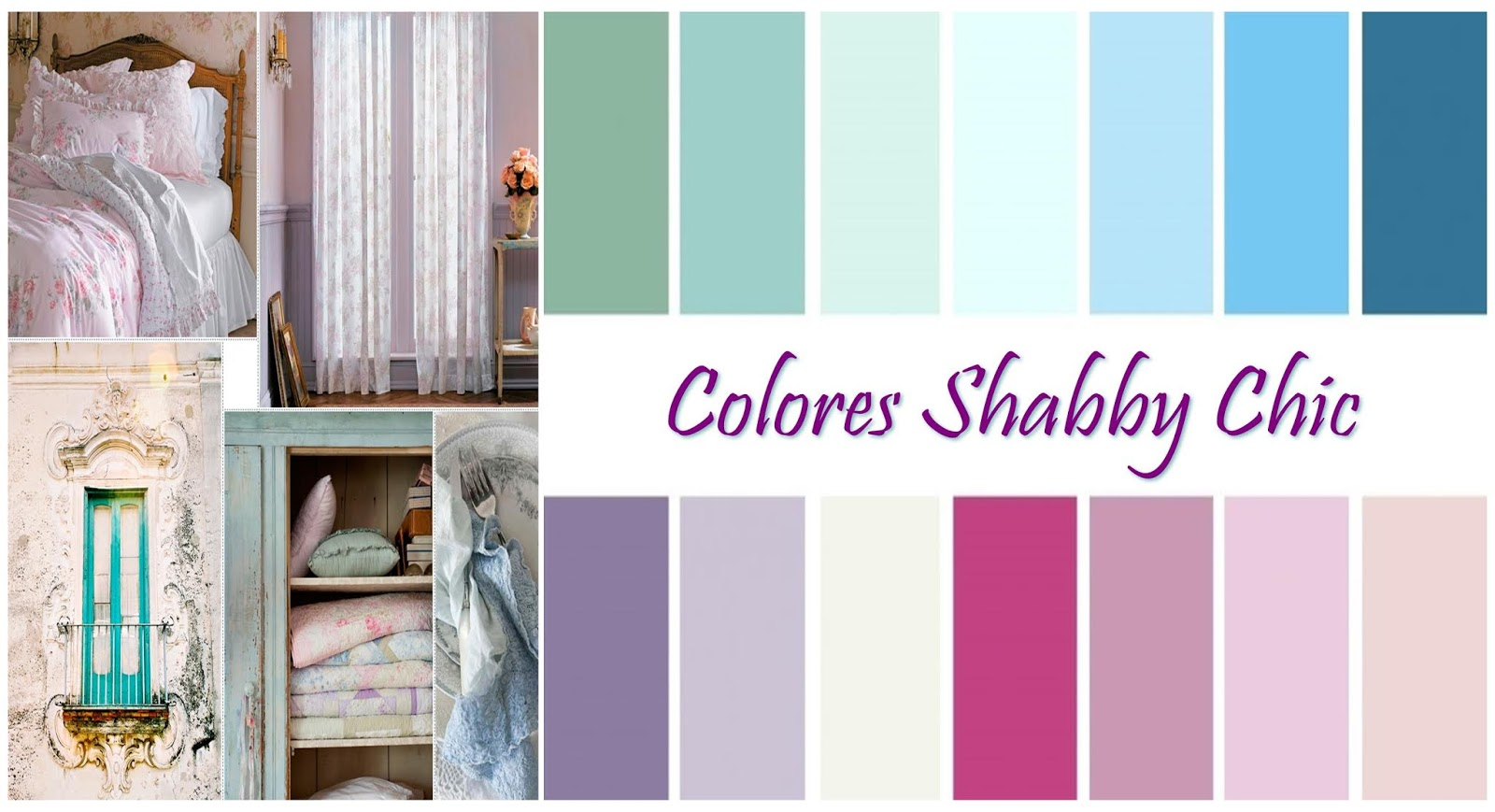 Shabby chic decor - what colors does it use?