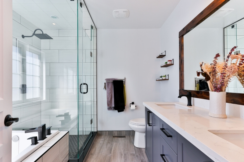 Curbless Shower - Check Popular Bathroom Trend of 2020