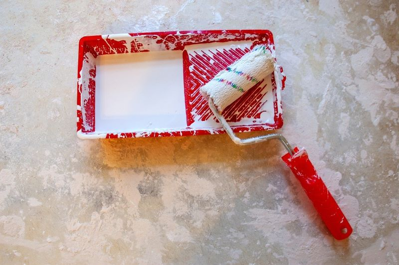 "How to avoid smudges? ""Wet on wet"" wall painting techniques"