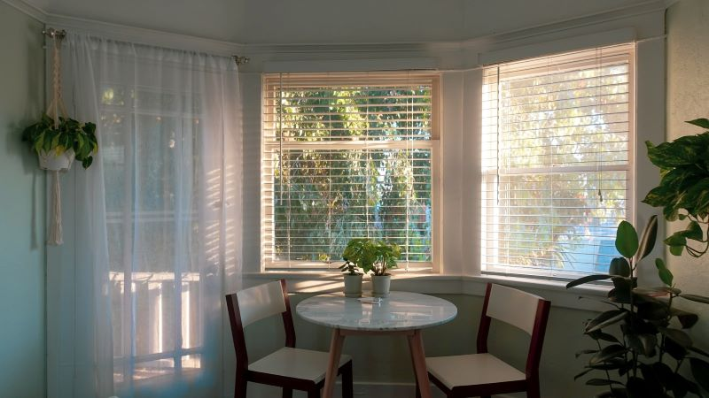 Kitchen curtains ideas - new look at the old concept